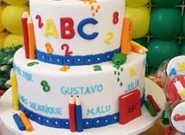 Opcional: bolo com andares