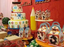 Opcionais: bolo, personalizados
