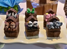Opcionais: doces 3D modelados