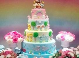 Opcionais: bolo com andares