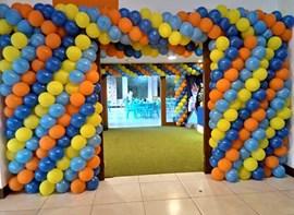 parede de balões opcional