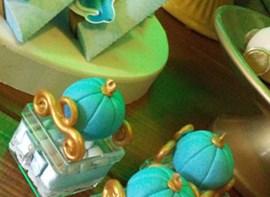 Detalhe do kit Luxo de guloseimas