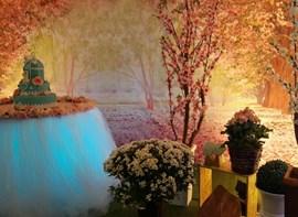 Mesa do Bolo (tela 3D e iluminação cênica opcionais)