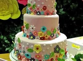 Opcional bolo com 3 andares
