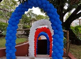 Arcos na entrada (opcionais)