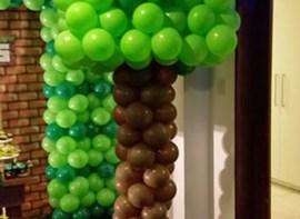 Árvore de balão opcional