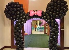 Arco de balões orelha opcional