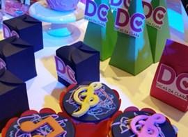 Opcionais cupcakes e personalizados
