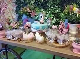 Mesa do bolo - detalhe