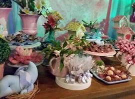 Mesa de doces - detalhe