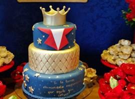Opcional: bolo com 3 andares