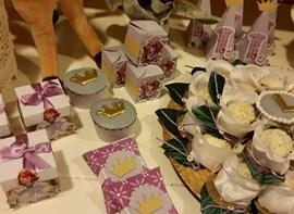 Forminhas, cupcakes e caixinhas (opcionais)