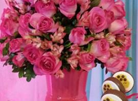 Arranjos de flores naturais (opcional)