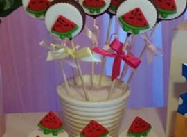 Popcakes e cupcakes (opcionais)